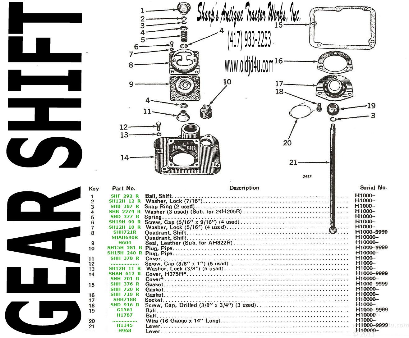 John Deere 2 Cyl Tractor Oldjdforyou Parts H. John Deere H Parts Catalog Gear Shift. John Deere. John Deere B Transmission Shifter Diagram At Scoala.co