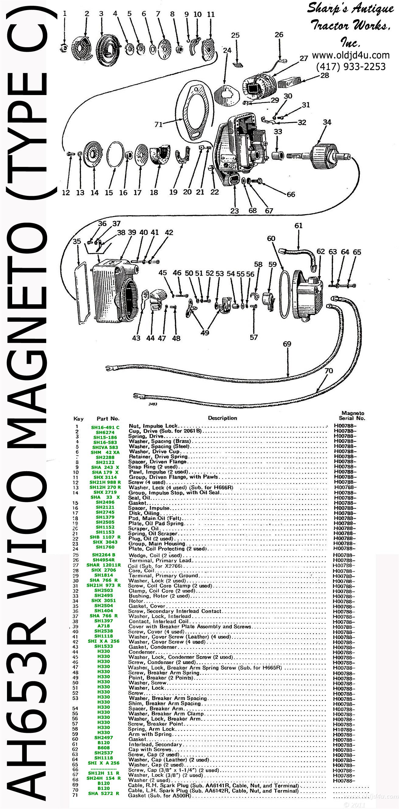Wico Magneto Wiring Schematic Diagram Libraries Wilco Datawico Data John Deere